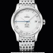 Omega De Ville Omega Co-Axial Silver Dial 41 mm T