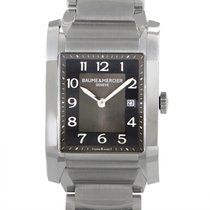 Baume & Mercier Hampton Mens Stainless Steel Quartz Watch...