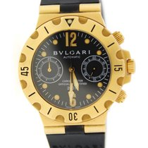 Bulgari Diagono Scuba Chronograph Automatic 18K Yellow Gold