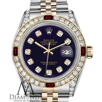 Rolex Womens Rolex S/steel & Gold 36mm Datejust Watch...