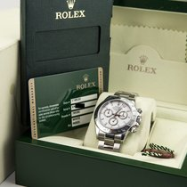 Rolex Daytona White Dial 2009 Box & Papers/Card