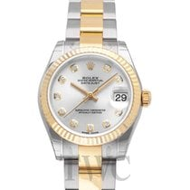 롤렉스 (Rolex) Datejust Lady 31 Sliver/18k gold 31mm G Oyster -...