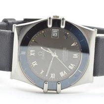 Omega Constellation Herren Quartz Uhr 34mm Stahl/stahl Rar...