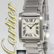 Cartier Tank Francaise Stainless Steel Quartz Small Ladies...
