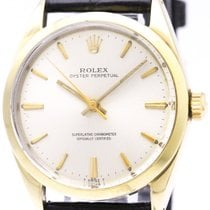 Rolex Vintage Rolex Oyster Perpetual 1024 Gold Plated Automati...
