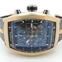 Cvstos 18k Rose Gold Challenge Chronograph Watch 41mm CVCRTNRGSV