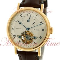 Breguet Tourbillon Automatic Power Reserve, Silver Dial -...