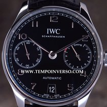 IWC Portuguese 7-Days new model black full set set unused