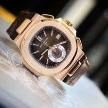 Patek Philippe Nautilus Chronograph Rose Gold Watch
