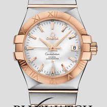 Omega Constellation Co-Axial 35mm Steel/Gold