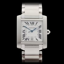 Cartier Tank Francaise Stainless Steel Unisex 2302 - W3611