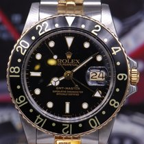 Rolex Oyster Perpetual Gmt-master I Half-gold 16753 (vintage...