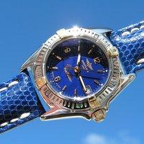 Breitling Callistino B52045.1 Blue Dial Steel Gold Esfera Azul...