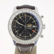 Breitling Navitimer World 46mm BlackDial (B&P2012) MINT
