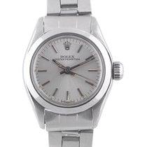 Rolex. A lady's stainless steel bracelet watch