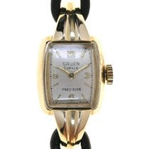 Gruen Ladies Wristwatch Curvex Precision