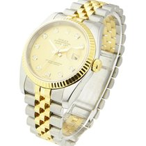 Rolex Used 116233_used_Champ_DD Mens 2-Tone DATEJUST with...
