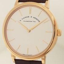 A. Lange & Söhne Saxonia Thin 18ct Rotgold