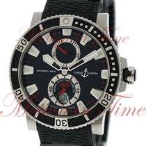 Ulysse Nardin Maxi Marine Diver 45mm, Black Dial - Titanium /...