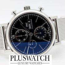 IWC PORTOFINO Chronograph Black Dial IW391010 T