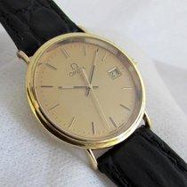 オメガ (Omega) 18ct golden  thin in very good condition