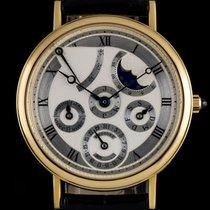 Breguet 18k Y/G Silver Dial Perpetual Calendar Classique...