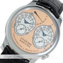 F.P.Journe Chronometre a Resonance GMT Dual Time Platinum