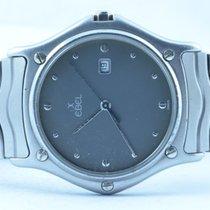 Ebel Classic Wave Herren Uhr 37mm Stahl/stahl Klassische Uhr
