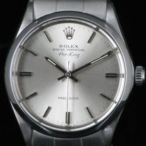 Rolex Air King Precision 5500 Plexy Steel Automatic