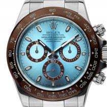 Rolex Daytona Custom Stahl Keramik braun Automatik Chronograph...