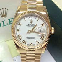 Rolex Day-Date 118238  -Serviced By Rolex