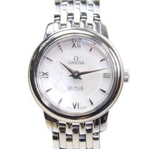 Omega De Ville Stainless Steel White Quartz 424.10.24.60.05.001
