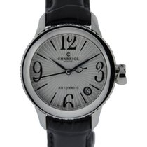 Charriol Colvmbvs Automatic 36mm Stainless Steel Silver Dial...