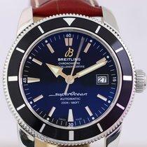 Breitling Superocean Heritage Lederband schwarz Diver 42...