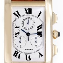 Cartier Tank Americaine Men's Chronograph Watch W2601156