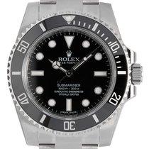 Rolex Submariner Stainless Steel Black Dial 114060