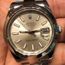 Rolex Datejust II Stah Jubile NEW Dia Dail B&P LCEU