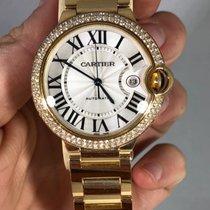 Cartier Ballon Bleu 42mm Factory Diamonds