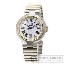 Alfred Dunhill ダンヒル ミレニアム 腕時計 ステンレススチール/GP メンズ