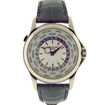 Patek Philippe Complications World Time 5130G 18K Solid White...