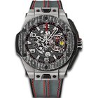 Hublot Big Bang Ferrari Titanium Carbon (New Fullset)