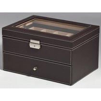Rothenschild Uhrenbox braun für 20 Uhren RS-1683-20DBR