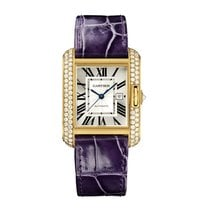 Cartier Tank Francaise Automatic Mens Watch Ref WT100017