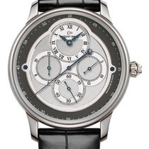Jaquet-Droz Complication Chaux-de-Fonds Chrono Monopusher 18k...