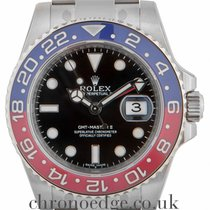 Rolex GMT Master II White Gold (Factory stickers in place)