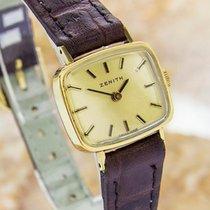 ゼニス (Zenith) Swiss Made Ladies Rare Mechanical Vintage Gold...