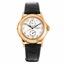 Patek Philippe Travel Time Rose Gold Manual Wind Watch...