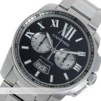 Cartier Calibre Chronograph Automatic Stahl W7100016