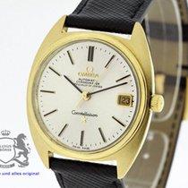 Omega Constellation Chronometer Vintage 168009 solid 18K Gold...
