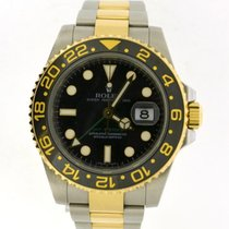 Rolex GMT Master II steel and gold 116713LN
